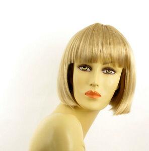 Perruque-femme-courte-blond-dore-meche-blond-tres-clair-ELISA-24BT613