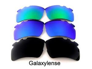 1f5e744541e Replacement Lenses For Oakley Flak 2.0 XL Vented Sunglasses Black ...