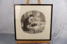 Charles Addams Original New Yorker Framed Sketch