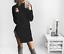NEW-Women-Turtleneck-Winter-Split-Long-Sleeve-Sweater-Jumper-Knit-Bodycon-Dress thumbnail 2