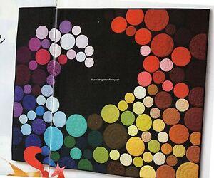 Color wave quilt pattern pieced applique nm ebay