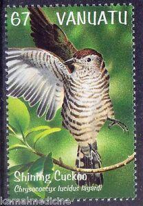 Birds Shining Cuckoo summer migrant to New Zealand, Vanuatu 1999 MNH