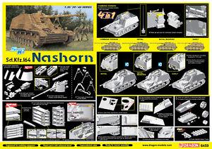 Sd.Kfz.   164 Rhino Kit 4 en 1 Dragon 1:35 Dr6459
