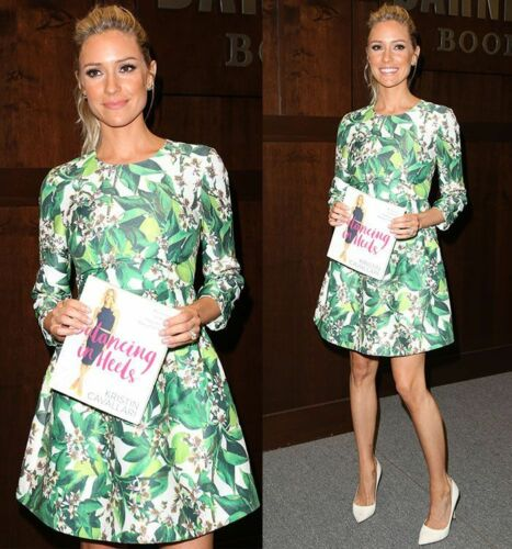 NWOT Blaque Label Palm Leaf Print Dress SZ M