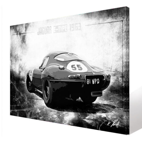 Bild Abstraktes Auto Sportwagen Oldtimer Leinwand Kunst Bilder Wandbilder D1303