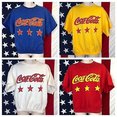 Coca-Cola Mens Eighties Coke Short Sleeve T-Shirt