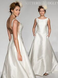 Image Is Loading Sottero And Midgley 034 Mccall Wedding Gown