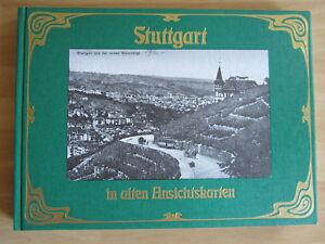 Buch-Stuttgart-in-alten-Ansichtskarten-1976-Richard-Meinel