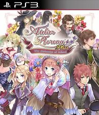 Atelier Rorona Plus The Alchemist Of Arland For PAL PS3 (New)