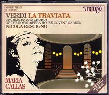 VERDI: LA TRAVIATA Maria Callas Cesare Valetti RESCIGNO 1958 Covent Garden 2CD
