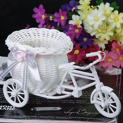 Bike Design Flower Basket Pot Vase Plant Stand Holder Home Wedding DIY Decor