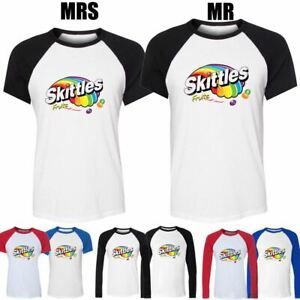 Skittles-Sweets-Quirky-Retro-Candy-Design-Couple-T-Shirt-Mens-Womens-Graphic-Tee
