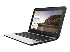 "HP 11.6"" Chromebook 11 G4, 4 GB RAM, 16 GB SSD, Intel HD Graphics, Black"