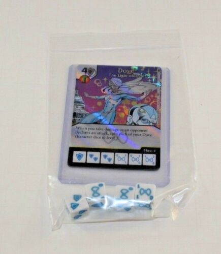 DC Dice Masters Batman DOVE Set RARE FOIL Uncommon CUR 4 DICE