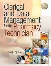 Clerical and Data Management for the Pharmacy Technician-ExLibrary