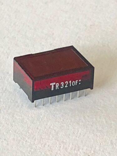 TR321OF-Pantalla LED de 2 dígitos 7 segmento-Fondo Negro con Pantalla Roja