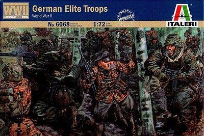 Italeri - German Elite Troops (world War Ii) - 1:72 - 6068