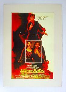 Herencia-Antiguo-Cine-Impresion-Trasero-Passepartout-James-Bond-80er-Anos