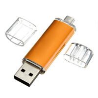 16GB USB Speicherstick OTG Mikro USB Flash Drive Handy PC Gold GY