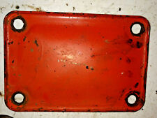 Case Sc Tractor Clutch Inspection Cover Ji Case Part Torque Tube Cover
