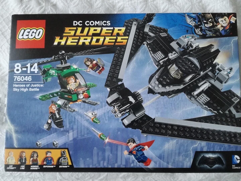 LEGO 76046 - Marvel Super Heroes Heroes Heroes - Hereos of justice - neu & ovp 72550c