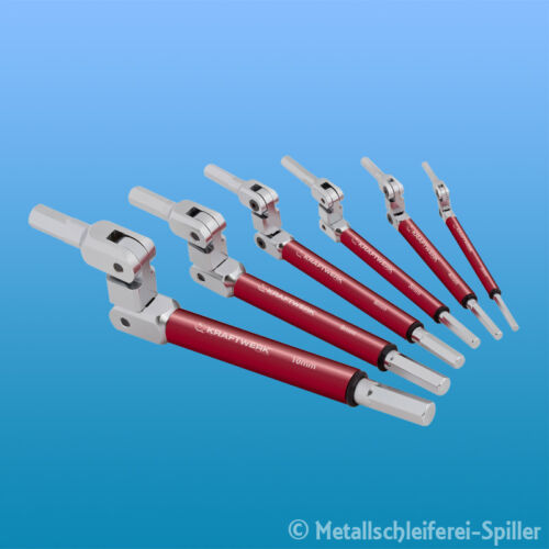 Schlüssel Satz Doppelgelenk Kraftwerk ® 3625 6-tlg Innensechskant