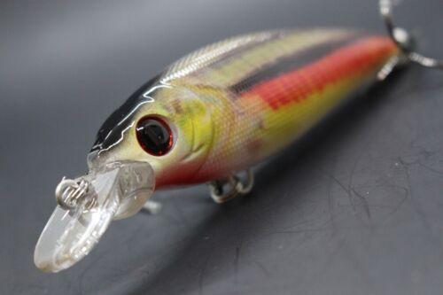 Jerkbait Fishing Lure wLure 5 1//2 inch Minnow Wide Wobble Lifelike Pattern HM525