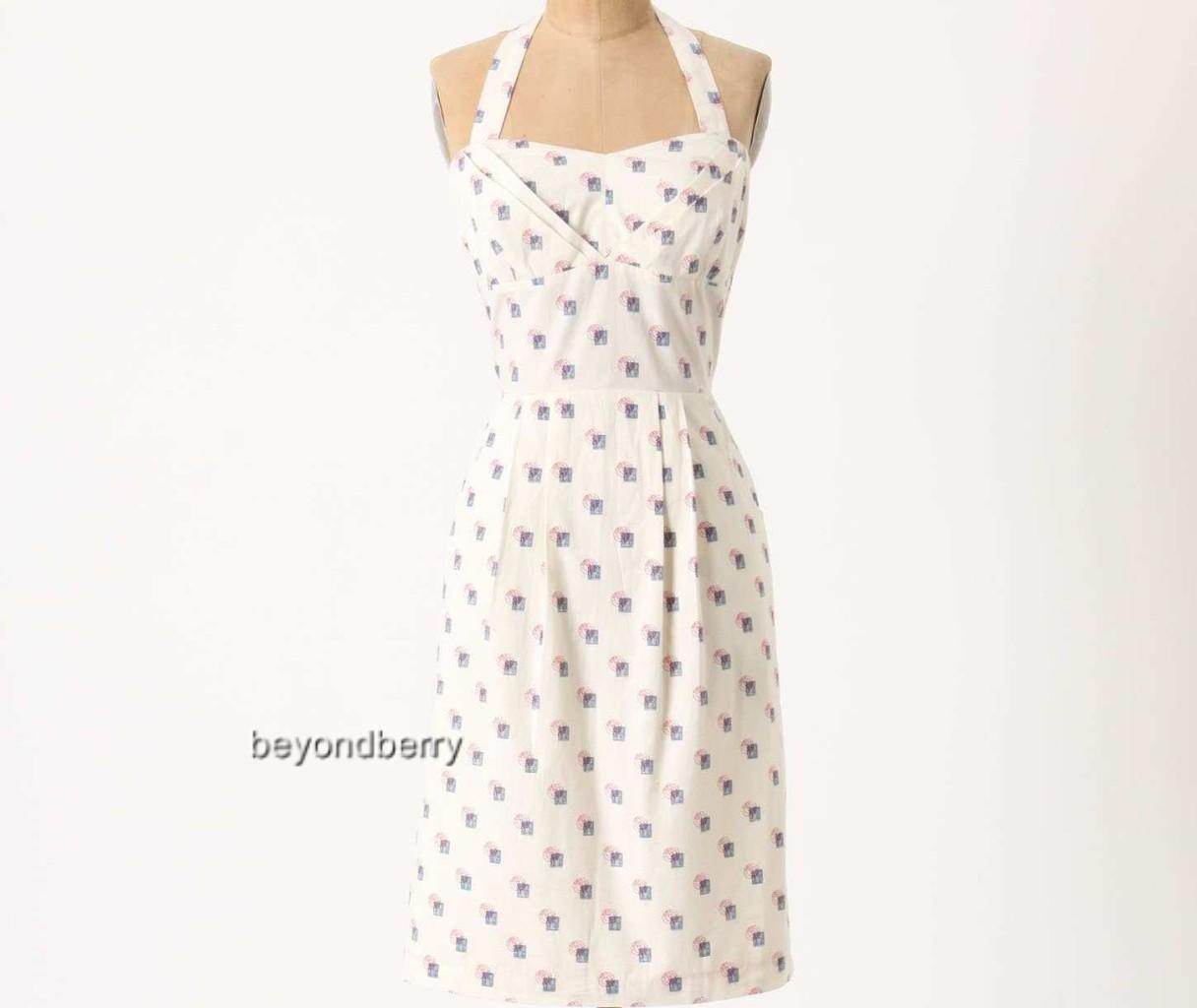 NEW Anthropologie Sincerely Paris Halter Dress by Girls from Savoy  Größe 10