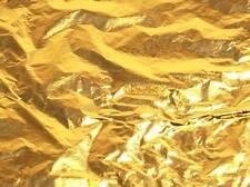 X10 14x14cm Grande 24k Hojas De Hoja De Oro Hojas Dorado Nail Art Craft Supplies