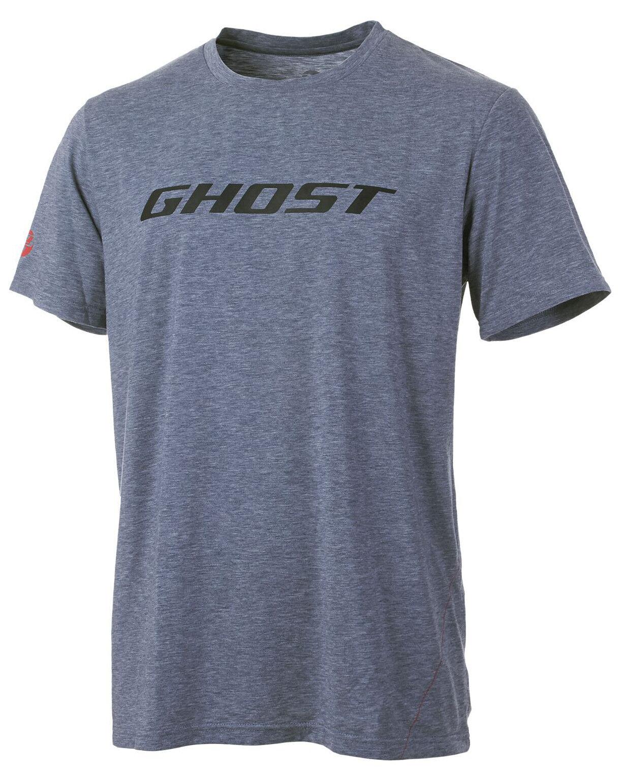 GHOST T-Shirt - Bike Tee Ghost grey black 2017 - S