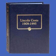 Whitman Lincoln Cent Album 1909-1995 P-D-S Classic Blue Leatherette 9112