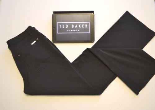 Ted W32 Pantalon Droite Femme Pantalon Jambe Maigre Noir L31 Baker 7476qnS