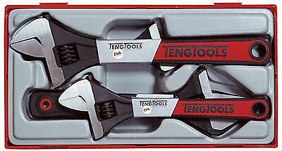 Teng Tools 4 Piece Adjustable Spanner Wrench Set TTADJ04  6