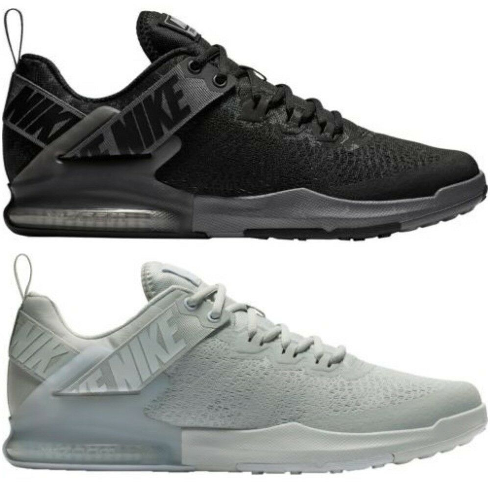 New Men's Nike Zoom Domination 2 Training TR shoes Black Athletic Free Shipping