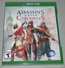 Assassin's Creed Chronicles for Xbox One Brand New! Factory Sealed!