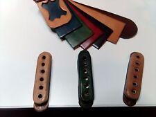 Copri Pickup copripickup Fender Stratocaster colorazioni vintage in vero cuoio