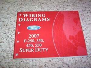 2007 Ford F250 Super Duty Electrical Wiring Diagram Manual ...