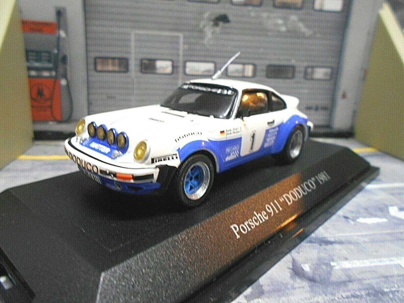 Porsche 911 SC Size 4 Manx Rally 1981 Röhrl Doduco Premium Classixxs 1 43