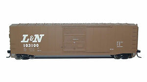 Rivarossi-L-amp-N-Sliding-Door-Box-Car-103166-HO-Scale-Train-Car-HR6374
