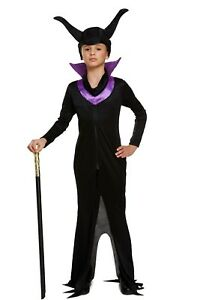 image is loading girls evil queen costume maleficent child halloween fancy