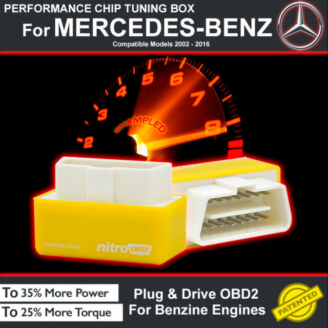 POWER BOX CAR CHIP TUNING ECU REMAPPING REMAP PERFORMANCE UPGRADE For MERCEDES