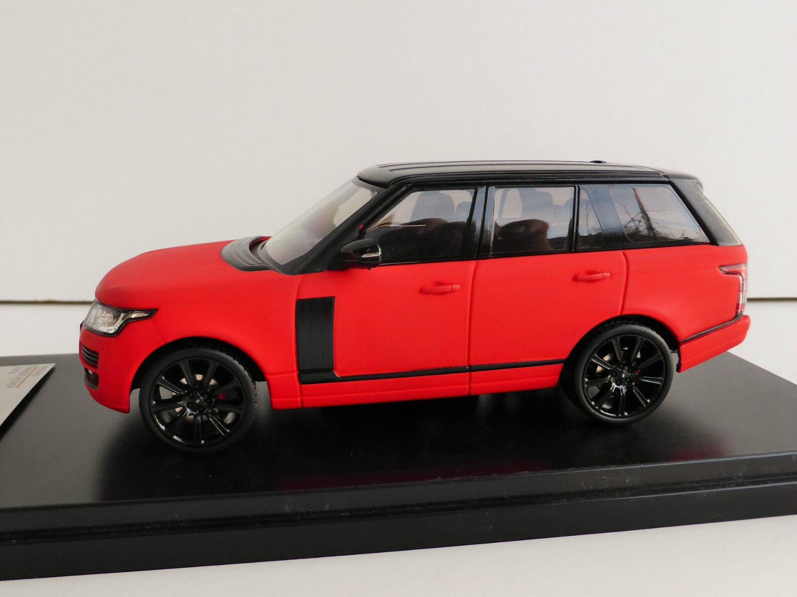 Range Rover rouge mat 1 43 IXO PREMIUMX prd405 Limited Edition par 405 LG l405