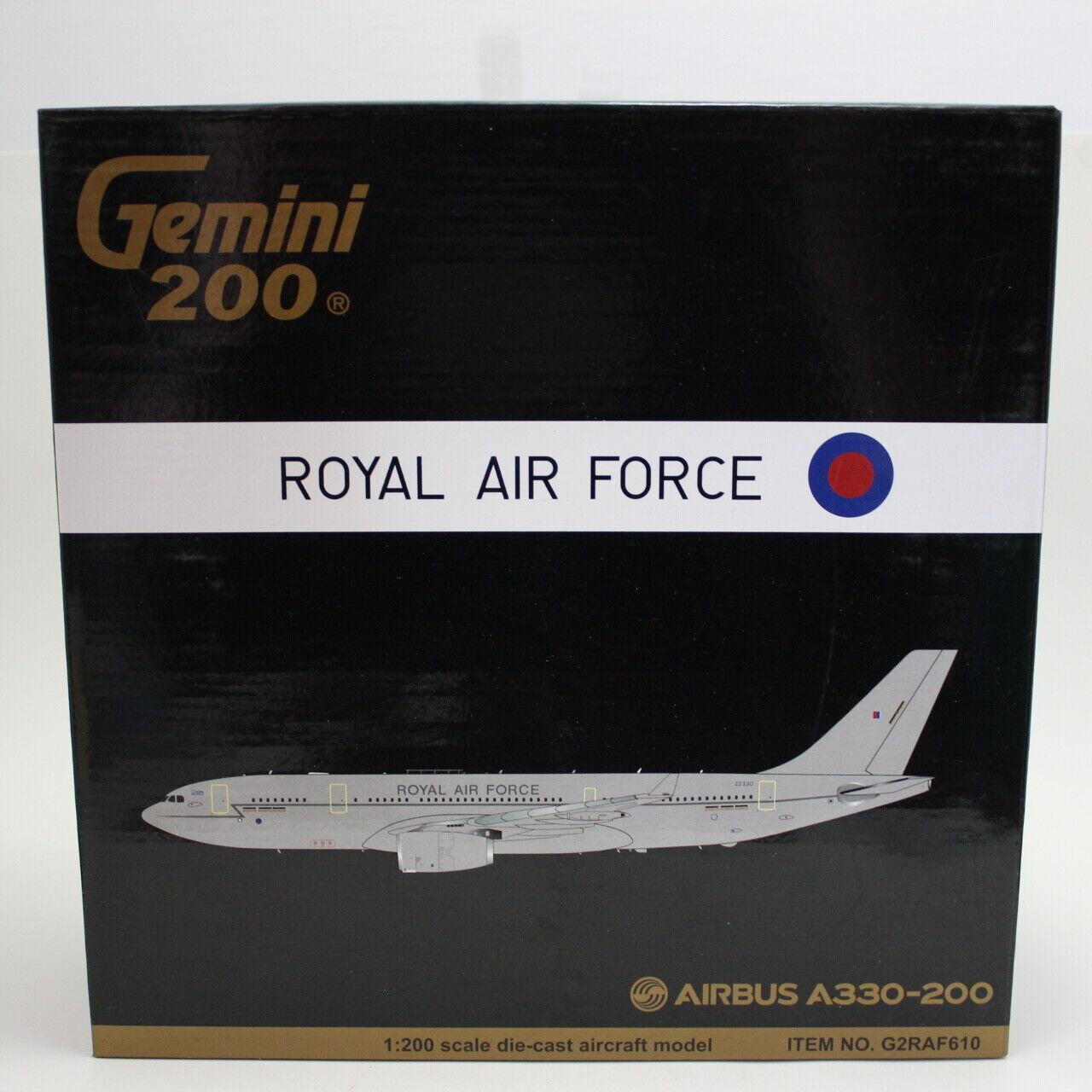 Gemini 200 Airbus Voyager K.Mk 2 (A330 MRTT) RAF, G2RAF610 (diecast) 1 200