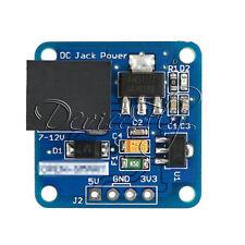 DC-Jack 7-12V to 5V/3.3V Step-down Buck Power Supply Converter Module Arduino