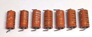 7x-EPCOS-Sikorel-Siemens-680uF-40V-85C-Axial-Electrolytic-Capacitors-B41684