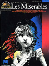 LES MISERABLES Piano Play-along Music Book CD PVG *NEW*