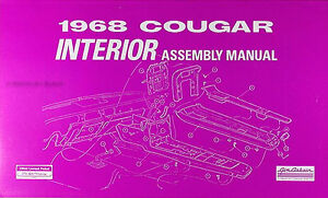 1968 mercury cougar interior parts assembly manual 68 seats trim image is loading 1968 mercury cougar interior parts assembly manual 68 asfbconference2016 Images