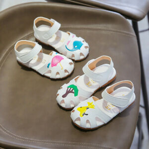 Toddler-Infant-Kids-Baby-Girls-Summer-Cartoon-Animals-Sandals-Princess-Shoes