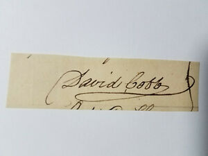 David-Cobb-Signature-of-the-Politician-from-Massachusetts