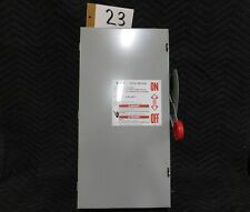 Eaton Dh363ugk 100 Amp Heavy Duty Safety Enclosed Switch 600vac250vdc Usa